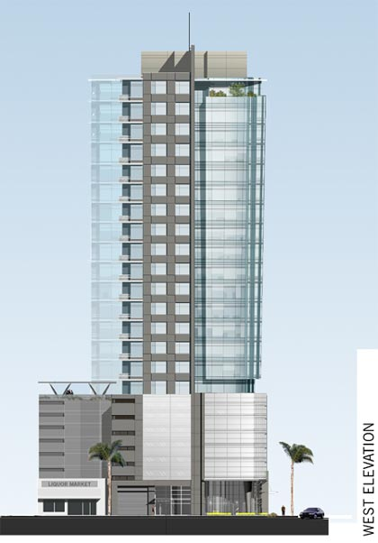 Brentwood barrington and wilshire tower skyscrapercity for Modern high rise building design