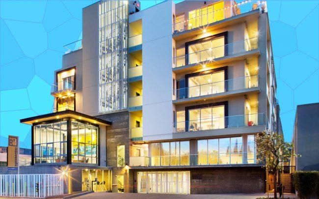 California Landmark Group S Marina Del Rey Rental Complex Was Planned As Condo